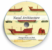 Rare Books on DVD - Ship Buidling Naval Architecture Marine Engineering Boat F7