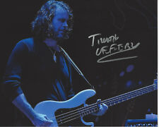 BASSIST TIM LEFEBVRE of TEDESCHI TRUCKS BAND SIGNED 8X10 PHOTO w/COA DAVID BOWIE