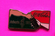 1996 OLYMPIC COCA COLA PIN COKE HANDS AND BOTTLE PIN SPONSOR PIN