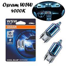 2x Osram W5W 12V 2825HCBI-02B Blau Xenon Look Positions- und Standlicht Lampe