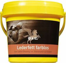 13,00 EUR/l   B&E Lederfett farblos 500 ml pflegt nährt imprägniert Leder
