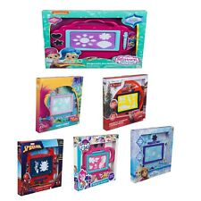 Kids New Medium Magnetic Scribbler Frozen.Cars3,Trolls,Spiderman Shape Xmas Gift