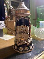Vintage Musical German Beer Stein - Froher Trunk Hält Jung Dr Schiwago