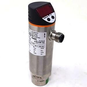 Pressure Sensor PN4222 IFM 0-100bar 0-1450psi 0-10MPa PN-010-RBR14-HFPKG/US/ /V
