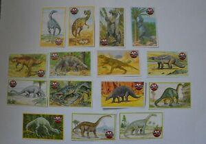 De Agostini Dinosaurier Dino Tausch Sammelkarten Serie 1 (15 Stk.)