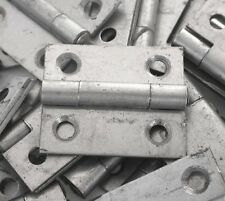 """Hinge Butt 30mm 1¼"""" pk 8 Steel Small Box Cabinet UK Made 4 pairs see details"""