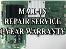 Mail-in Repair Service For Sony XBR-55X850C Main Board 1 YEAR WARRANTY