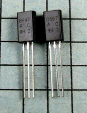 2SB647A & 2SD667A, B647A / D667A  : 5 pair per Lot