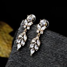 DESTOCKING drop shape earrings Sheet Crystal Class Marriage Art Deco A15
