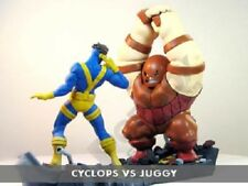 MARVEL diorama CIVIL WAR Asia CYCLOPS JUGGERNAUT figurines figures statues NEUF