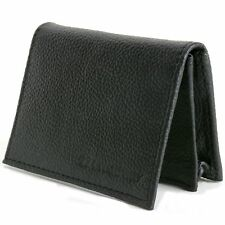 Leather Wallet Expandable Card Case Front Pocket Thin Slim ID Window Credit Card