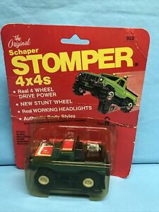 Original Vtg Green Schaper Stomper 4x4 Real 4 Wheel Drive Power Sealed Age 4+