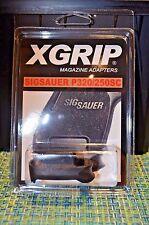 (2) X-Grip Adapter Use SigSauer P320/250C Compact Magazine P250/320SC Sub 9mm/40