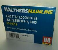 New HO Scale Train : Walthers Mainline EMD F7AB Locomotive Southern 6714 6180