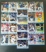 2019 Topps Series 1 & Series 2 MILWAUKEE BREWERS Complete Team Set (22) +Yelich+