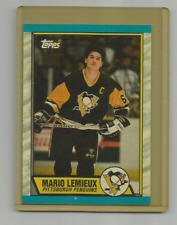 MARIO LEMIEUX (Pittsburgh Penguins) 1989-90 TOPPS ERROR HOCKEY CARD #1