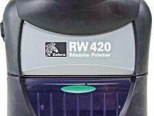 """Zebra RW420 STAMPANTE mobili versione 4"""" Bluetooth Versione USATO-R4A-0UBA000E-00"""