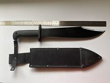 "Cold Steel 18"" Overall Black Stainless Steel Blade With Nylon Sheath"