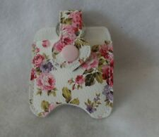 Pink Flowered Hand Sanitizer Holder Free Shipping