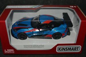 Kinsmart 1:36 Toyota GR Supra Racing Concept with printing DieCast car