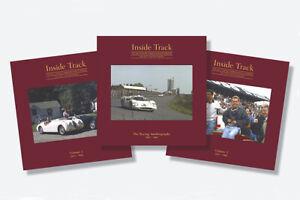 PHIL HILL INSIDE TRACK X RARE 3 BOOK 2 box COLLECTORS EDITION FERRARI CHAPARRAL