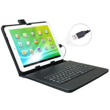 """New 9.7"""" Tablet Leather Case Cover With Keyboard High Quality For Tablet iPad"""