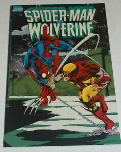 Spider-Man vs. Wolverine Trade Paperback (1990) Marvel Graphic Novel TPB VF 8.0
