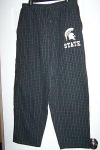 Fruit of the Loom  MSU Michigan State lounge pants / pajamas Men's Large