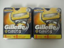16 GILLETTE FUSION 5 PROSHIELD REFILL CARTRIDGES - NEW & SEALED - EL 705R