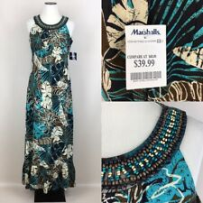 Madison Leigh Womens Tiered Bodice Floral Maxi Dress MSRP $78 New with Tags