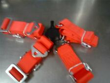 4 point Safety Harness unknown maker quick release latch straps 35""