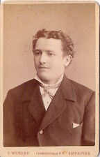 F. Wunder CDV photo Herrenportrait - Hannover 1870er