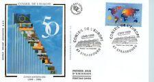 FDC - FRANCE 3233 - 50 ANS DU CONSEIL DE L'EUROPE