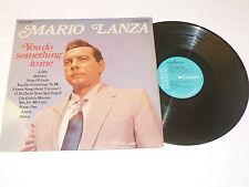 MARIO LANZA - You Do Something To Me  1969 UK Camden blue label 11-track mono LP