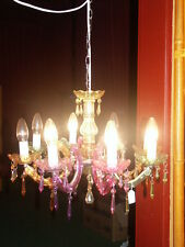 Deckenlüster Deckenkrone Kronleuchter Deckenlampe Restaurant Hotel Lüster Edel