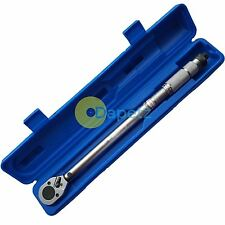 Torque Wrench 1/2'' Inch Drive Ratchet 42-210 Nm 30-160ft lbs