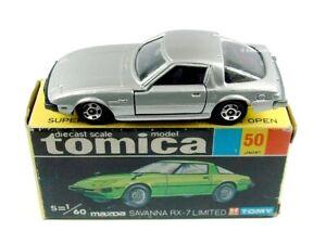 TOMICA / #50 1:60 Mazda Savanna RX-7 Limited (Silver-Grey).