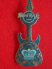 HRC Hard Rock Cafe Philadelphia Blue Rock Couture Guitar 2008 LE200