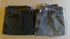 Pair of Wrangler  44 x 29 and Levis Jeans- 44 X 30- Men's