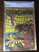 Green Lantern #6 (1943) - 1st Series!! Golden Age!! - CBCS 3.5 (Not CGC) - Rare!