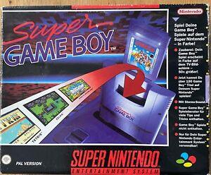 Nintendo Super Game Boy - Adapter - OVP