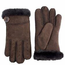 Ugg Women's Bailey Sheepskin Leather Gloves