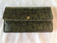 """Authentic"" Louis Vuitton Stephen Sprouse Graffiti Sarah Wallet, USA Seller"