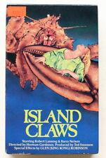 ISLAND CLAWS ~ VESTRON BETA ~ 1980's Cult Horror ~ Killer Crab Video ~ NOT VHS