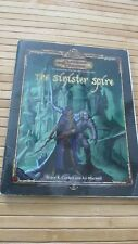 Dungeons and Dragons The Sinister Spire & fidget spinner
