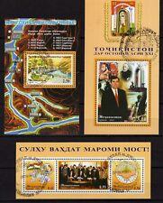 Tadschikistan Block 23 - 24 - 25 o  Unabhängigkeit -  Mi. 80,00 (1607)