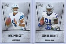 DAK Prescott & Ezekiel Elliott 2016 Leaf Draft Silver Edition Rookie Card Lot