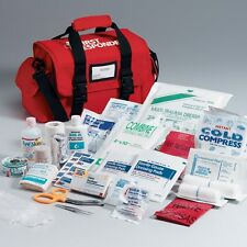 First Aid Only Responder Bag With Emergency Kit 158-pieces Large Red