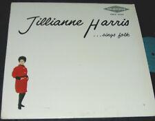 JILLIANNE HARRIS Sings Folk LP FEMME FOLK MELBOURNE RECORDS VG+
