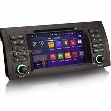 """7""""Android 5.1 Car Stereo AUTORADIO DAB+ GPS 3G OBD BMW 5er E39 E53 X5 M5 3061AF"""